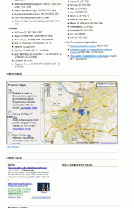 Google Crisisresponse Ägypten